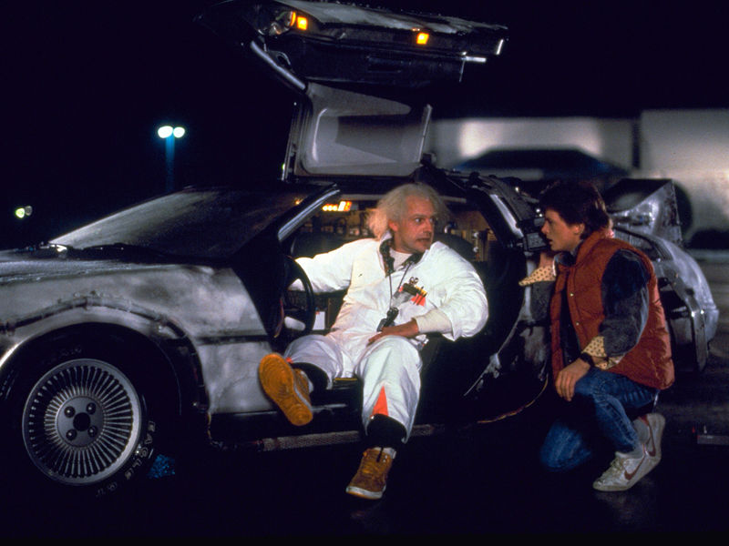 15-Fans celebrate Back to The Future day